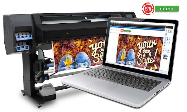 SAi erhält Software-Zertifizierung für Drucker HP Latex 560 und HP ...